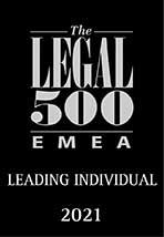 Legal 500 EMEA: Leading Individual